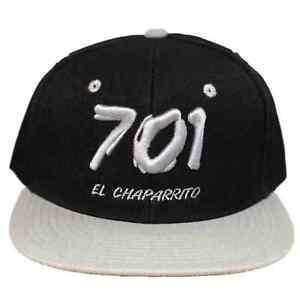 Black-Gray-Joaquin-El-Chapo-701-Guzman-Sinaloa-Cartel-Drug-Snapback-Snap-Hat-Cap