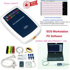 Contec8000g Ecg Workstation Systemportable 12 Lead Resting Pc Base Ekg Machine
