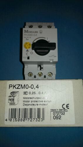 Klöckner Moeller PKZM0-0,4  Motorschutzschalter  0,25...0,4A