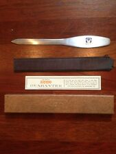 Zippo Stainless Steel Letter Opener Ninth Air Force In Original Box