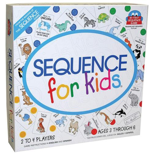 Sequence for Kids Board Game New SEALED Reading Not Required Ships SAMEDAY Free!