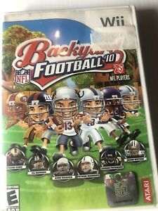 Backyard Football '10 (Nintendo Wii, 2009) Complete in ...