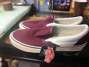 9d51da2e6b Vans Classic Slip-On 98 DX (Anaheim Factory) Burgundy Size US 13 Men ...