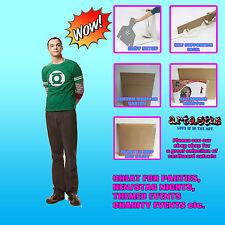 Sheldon Cooper Jim Parsons LIFESIZE CARDBOARD CUTOUT STANDUP The Big Bang Theory