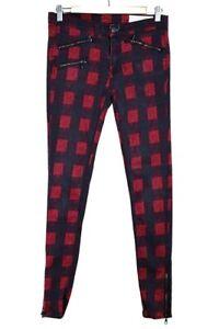 Rag and Bone Red Buffalo Jeans - Size UK8