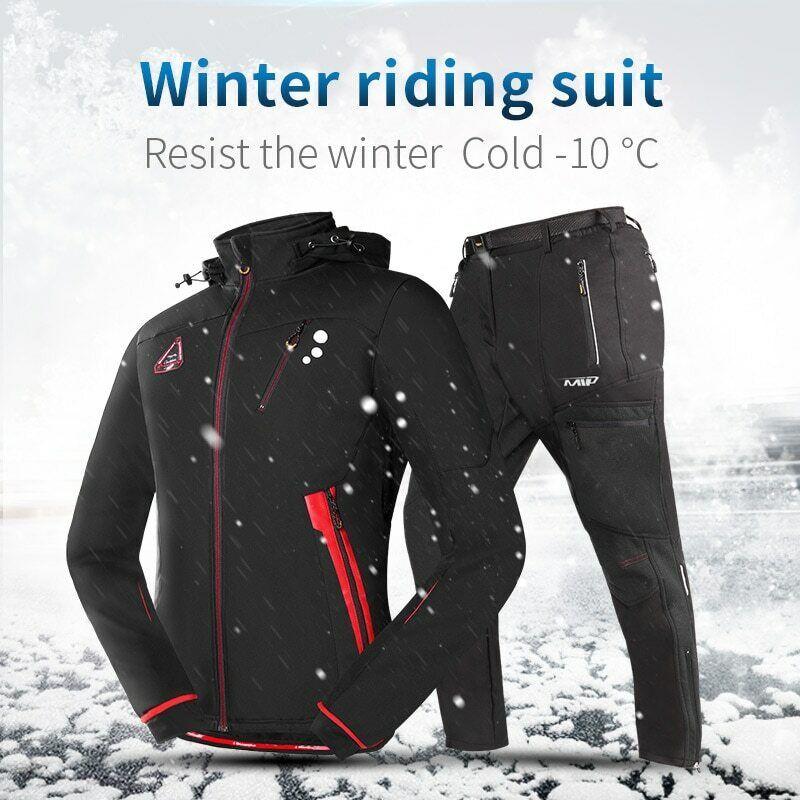 Winter Riding Suit Mountain Bike Sport Suit mannen's Sportswear Clothing WaterBesteendig