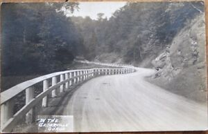 Cedarville-NY-1916-Realphoto-Postcard-In-the-Gorge-New-York