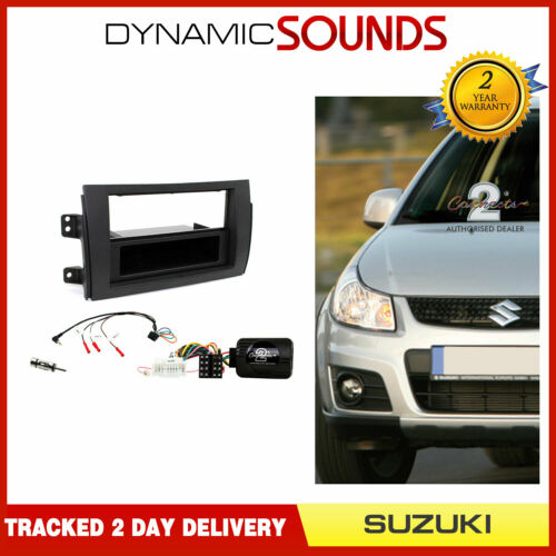 CTKSZ03 Double Din Fascia Steering Antenna Fitting Kit for Suzuki SX4 2006-2014