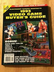Electronic-Gaming-Monthly-EGM-1993-Video-Game-Buyer-039-s-Guide