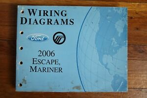 details about 2006 ford escape mercury mariner wiring diagram electrical manual house wiring diagrams 2006 escape wiring diagram #10