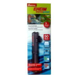 Eheim-ThermoPreset-Aquariumheizer-50W-Heizer-Heizstab-Aquarienheizer