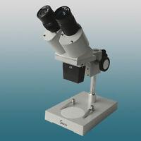 40x Optical Stereo Microscope Binocular Head With Wf10x Eyepiece 4x Objective