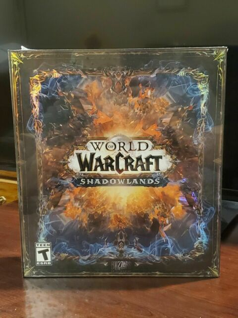 ✅ World Of Warcraft: Shadowlands Collector's Edition Windows IN HAND Ships Fast!