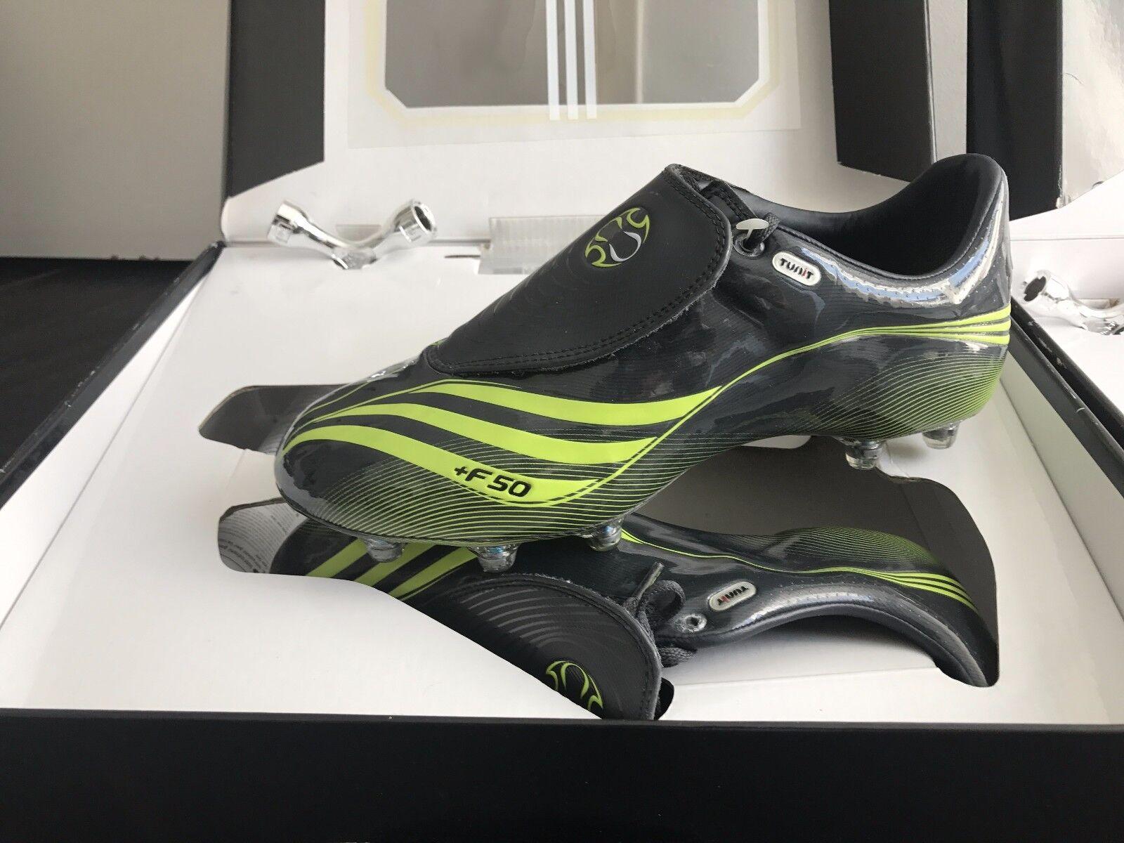 BNIB Adidas F50.8 Tunit Soccer Cleats Dimensione US 8.5,