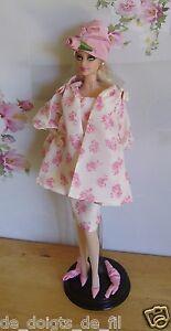 Tenue Complète De Collection Pour Barbie Muse Silkstone Luncheon 2013