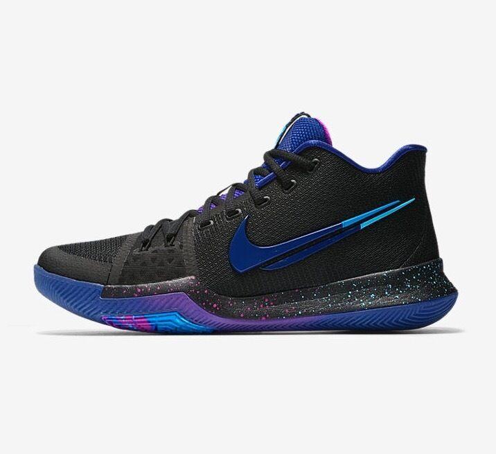 Nike kyrie irving 3 3 premi l'interruttore 852395 003 nero profondo blu reale gs