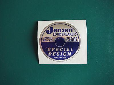 """Jensen Speaker Sticker P&S  2"""""""