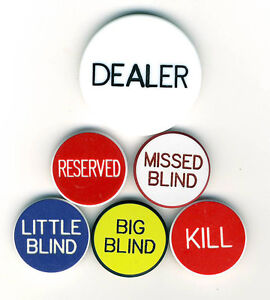 Poker buttons for sale