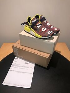 buy popular 46f16 7e6dc Details about Pharrell Williams x Adidas NMD Hu Trail Multi UK 8 AC7360  Human Race