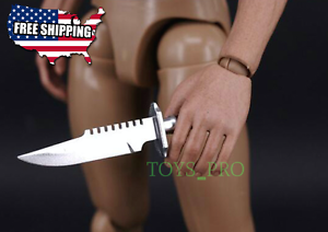 1-6-Military-Knife-Set-The-Walking-Dead-Soldaten-Waffe-Dragon-BBi-DID-USA