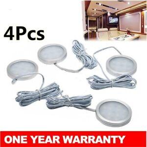 4x-12V-LED-Down-Light-Cabin-Ceiling-Lamp-Caravan-Camper-Trailer-Car-Warm-White