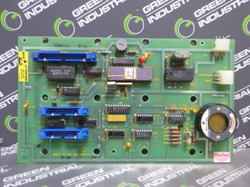 USED Bailey 6634967C1 Control Board with Sonalert SBM 428 8514