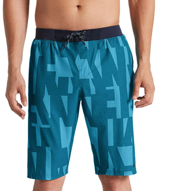 NWT $64 Tommy Bahama Blue Swim Trunks Mens Size L XL Swimsuit Shorts Floral NEW