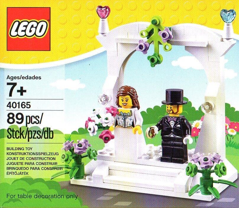 LEGO 40165 wedding Favour set set set 2016-Mariage-Bureau des mariages-Mariée-marié-OVP - NEUF | Authentique  a9fc22