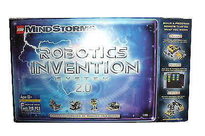Lego Mindstorm 3804 Robotics Invention System 2.0 Nuovo  World Wide Shipping