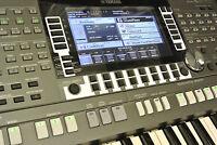 YAMAHA PSR-S970/770 Keyboard Schutz-Stickerset NIGHT Design 2 Display, Vol, Left