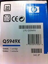 Original HP 49X Toner Q5949X negro Laserjet 1320 3390 3392 neu C