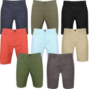 South-Shore-uomo-Scotch-Tinta-Unita-Cotone-Twill-Casual-Jeans-Corti-Chino-Taglia-S-XXL
