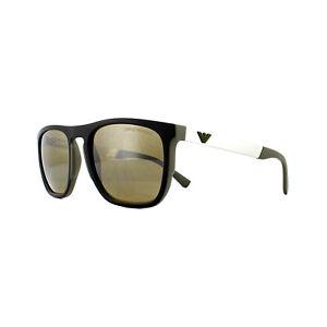 7565744b0406 Image is loading Emporio-Armani-Sunglasses-EA4114-56747I-Matte-Olive-Brown-