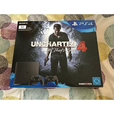 SONY PlayStation 4 PS 4 Slim-Konsole 1TB Schwarz FW 3.55 (4.05) Firmware