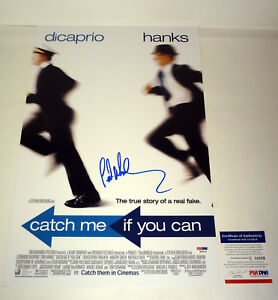 Frank Abagnale Catch Me If You Can Signed Autograph Movie Poster Psa