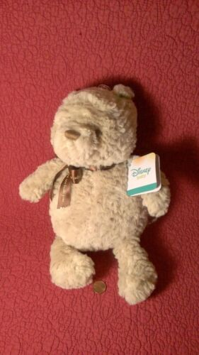 "12"" Disney Baby Kids Preferred WINNIE POOH BEAR SWEETEST tan plush stuffed tag"