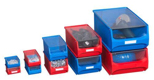 6Stück Allit ProfiPlus GripBox Staubdeckel transparent für Gr.1-5 Stapelbox