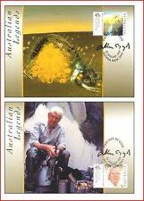 AUS9900MAX Legends of Australian painting A.Boyda 2 maxi cards