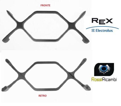 REX ELECTROLUX GRIGLIA 2 FUOCHI IN GHISA PIANO COTTURA CUCINA CM.38 X 15,5 SX