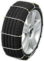 195/75-16 195/75r16 Tire Chains Cobra Cable Snow Ice Traction Passenger Vehicle