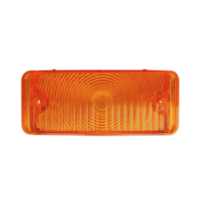Chevy Only 1967-1968 Chevy Pickup Amber Parking Lamp Lens Driver Side