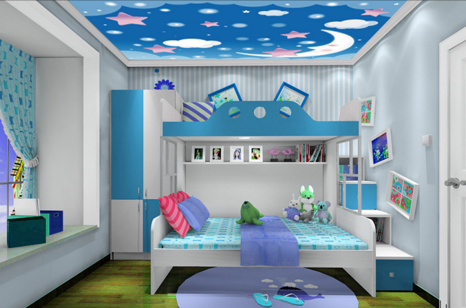 3D Netter Mond 720 Fototapeten Wandbild Fototapete BildTapete Familie DE Kyra