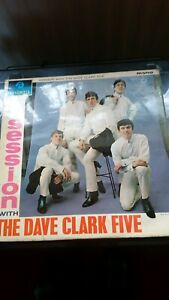 DAVE CLARK FIVE, SESSION WITH THE DAVE CLARK FIVE LP