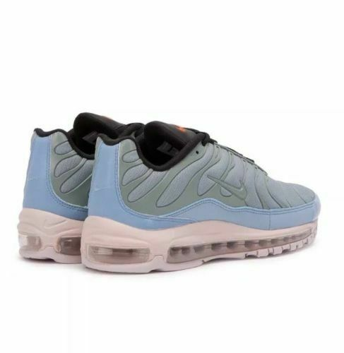 check out dbe5a 9e84c AH8144-300 Nike Air Max 97 Plus Max Mix Layer Cake Mica Green Men Running  Shoes