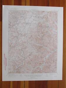 Peebles Ohio 1950 Original Vintage Usgs Topo Map Ebay