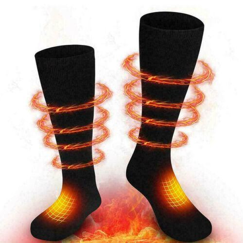 Electric Battery Powered Warm Heated Socks/&Gloves Winter Motorcycle Bike US