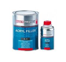 INTER TROTON Acryl Grundierung HS 2K 5:1 Schwarz -inkl. Härter Set 0,96 L