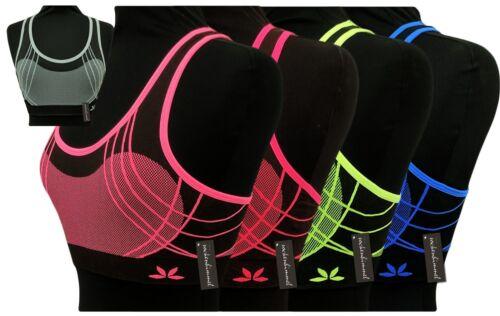 BHs für Damen 5er Set Sport und Freizeit BHs Fitness BHs BRA 5 Farben Gr 80-85
