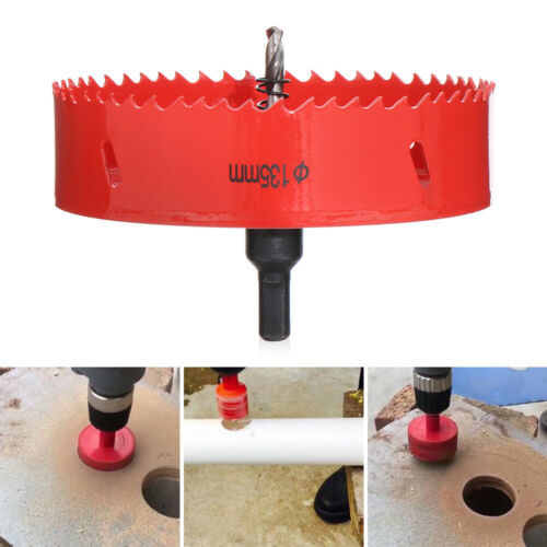 20-175mm Hole Saw Blade For Corn hole Boards Corn Hole Drilling Cutter Hex Tools