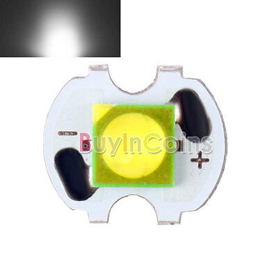 Bright CREE 3W 3535 Pure White Light LED Emitter Bead 8/12/14/16/mm PCB 300LM BE